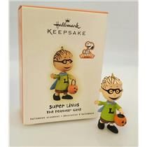 Hallmark Halloween Ornament 2009 Super Linus - Peanuts Gang - #QFO4015