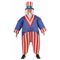 Uncle Sam Inflatable Giant Adult Patriotic Costume