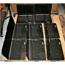 "LOT 8 Dell Latitude E5420 14"" Core i7 2nd Gen Bios Password Lock AS IS Laptop"