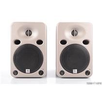 2 JBL Professional LSR25P 722-JBU-1 Reference Bi Amplified Speakers #31762