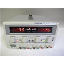 GW Instek GPC-3030D, Triple-Output 195W DC Power Supply, (ref: db, #2)