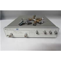 Agilent HP 85047A S-Parameter Test Set with Cables, 300Khz to 6GHz, (ref: db)