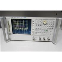Agilent 8753ES S-parameter Network Analyzer, 6 GHz, 1D5, 002, 006, 011 (ref: db)