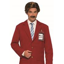 Anchorman Ron Burgundy Officially Licensed Wig and Mustache