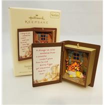 Hallmark Ornament 2007 Winnie Pooh Book #10 - Surprised To Meet You QXD4417-SDB