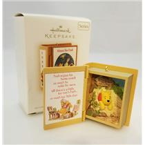 Hallmark Ornament 2009 Winnie the Pooh Books #12 A Snack for Pooh - #QX8362-SDB