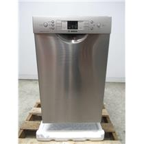"BOSCH 300 Series 18"" 46 dBA Recessed Handle Built-In-Dishwasher SPE53U55UC"