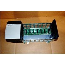 1756-PB75 Series B Allen Bradley ControlLogix Power Supply with 1756-A7 Rack