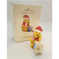 Hallmark Keepsake Ornament 2006 Pooh's Christmas List - Winnie - #QXD8323