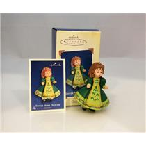 Hallmark Series Ornament 2005 Madame Alexander #10 - Sweet Irish Dancer  #QX2055