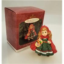 Hallmark Series Ornament 1997 Madame Alexander #2 Little Red Riding Hood #QX6155
