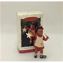 Hallmark Series Ornament 1996 All God's Children #1 - Christy - #QX5564-SDB