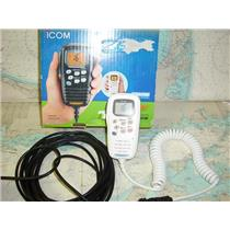 Boaters' Resale Shop of TX 1803 0444.01 ICOM HM-157SW COMMAND MIC II WITH CABLE