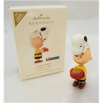 Hallmark Keepsake Limited Ornament 2008 Suppertime! - Peanuts Gang - #QXE9034