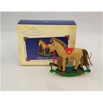 Hallmark Keepsake Series Ornament 2004 A Pony for Christmas #7 - #QX8221