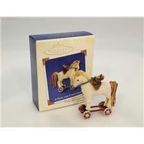Hallmark Keepsake Series Ornament 2003 A Pony for Christmas #6 - #QX8229