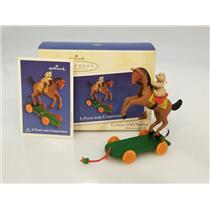 Hallmark Keepsake Series Ornament 2002 A Pony for Christmas #5 - #QX8056