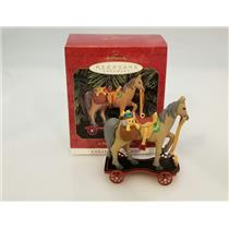 Hallmark Keepsake Series Ornament 1999 A Pony For Christmas #2 - #QX6299