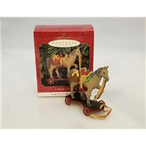 Hallmark Keepsake Series Ornament 1999 A Pony For Christmas #2 - #QX6299-DB