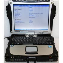 Panasonic ToughBook CF-19 MK4 Core i5 1.20GHz 4GB 250GB GPS Laptop CF-19RJRCG1M