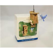 Hallmark Ornament 2000 Spring is in the Air #1 - Eastern Bluebird - #QEO8451