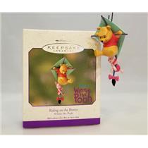 Hallmark Ornament 2001 Riding on the Breeze - Disney's Winnie the Pooh - QEO8612