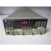 Agilent HP 8116A Programmable Pulse/Function Generator, 1 mHz - 50 MHz