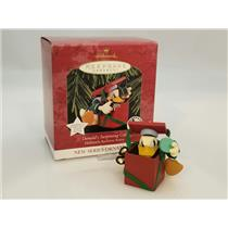 Hallmark Ornament 1997 Hallmark Archives #1 Donald's Surprising Gift QXD4025-SDB