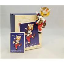Hallmark Series Ornament 2002 Mickeys Parade #6 - Goofy Toots The Tuba #QXD4903