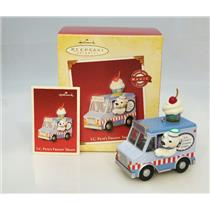 Hallmark Magic Keepsake Ornament 2005 I.C. Pete's Frozen Treats - #QLX7595