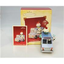 Hallmark Magic Keepsake Ornament 2005 I.C. Pete's Frozen Treats - #QLX7595-SDB