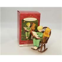 Hallmark Ornament 2001 Christopher Robin, Too #3 - A Story for Pooh #QXD4135-SDB