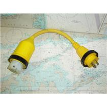 Boaters Resale Shop of TX 1802 2157.34 MARINCO 117A PIGTAIL ADAPTER 50A TO 30A
