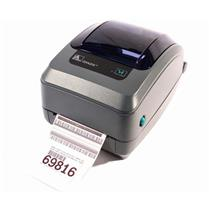 Zebra GX420T GX42-102410-000 Thermal Barcode Label Printer USB Network 203dpi