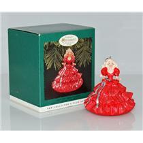 Hallmark Keepsake Club Ornament 1996 Happy Holidays Barbie #1 - #QXC4181-SDB