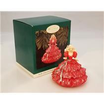 Hallmark Keepsake Club Ornament 1996 Happy Holidays Barbie #1 - #QXC4181-DB
