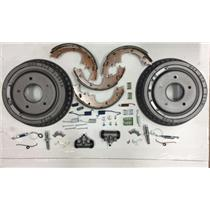 Chevy Impala brake rear kit 1965-1970 shoes drums cylinder adjuster & spring kit