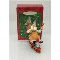 Hallmark Series Ornament 2000 Toymaker Santa #1 - Choo Choo Train - #QX6751