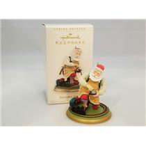 Hallmark Keepsake Series Ornament 2006 Toymaker Santa #7 - Train Set - #QX2573