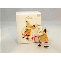 Hallmark Series Ornament 2009 Toymaker Santa #10 - Radio Flyer Plane - #QX8232