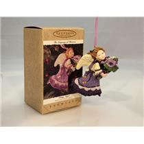 Hallmark Series Ornament 1996 Language of Flowers #1 - Pansy Angel - #QK1171-SDB
