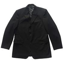 XL NWT Mondo di Marco 3 Button Front Lined Black Tuxedo Jacket Blazer M008323PS