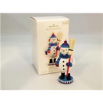 Hallmark Series Ornament 2009 Noel Nutcrackers #2 - Jolly Snowman - #QX8315