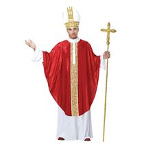 The Cardinal Pope Pontiff Adult Costume S/M 38-42