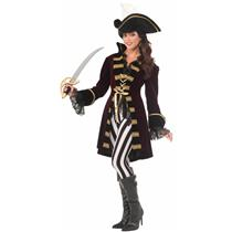 Captain Morgana Buccaneer Adult Costume Size M/L
