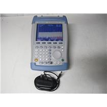Rohde & Schwarz FSH6 Spectrum Analyzer 100 kHz to 6 GHz w/ Tracking Gen & PreAmp