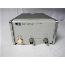 Agilent HP 8447C Power Amplifier 30-300MHz
