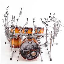 Pearl Master Studio Series 7-Piece Birch Drum Kit W/ Rack Virgil Donati #31236