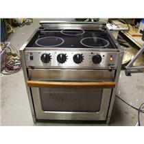 Boaters' Resale Shop of TX 1803 2125.01 FORCE 10 ELECTRIC 3 BURNER STOVE & OVEN