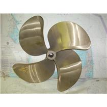 """Boaters' Resale Shop of TX 1803 2444.02 FOUR BLADE 21LH21 PROP FOR 1.5"""" SHAFT"""